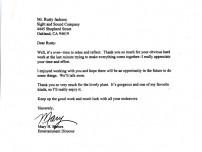 Raiders SASCO Letter